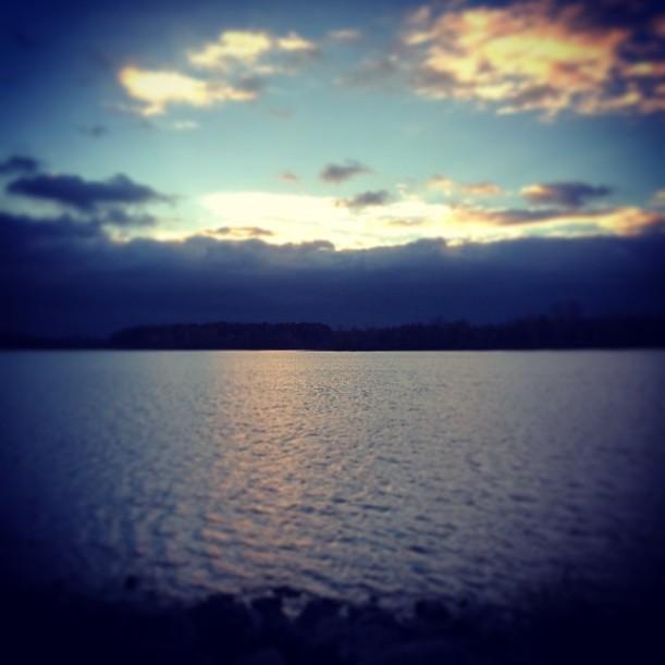 Lake near Adrian by Paul Trinka