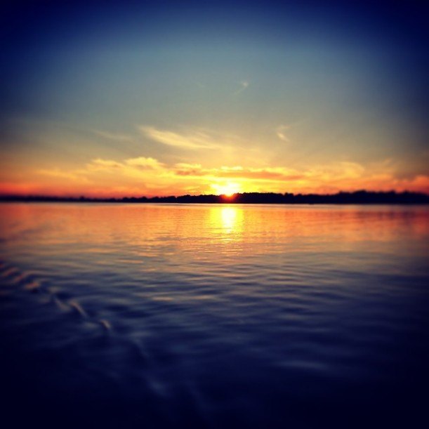 Lake Sunset by Paul Trinka