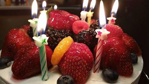 Birthday cake by John McDonald